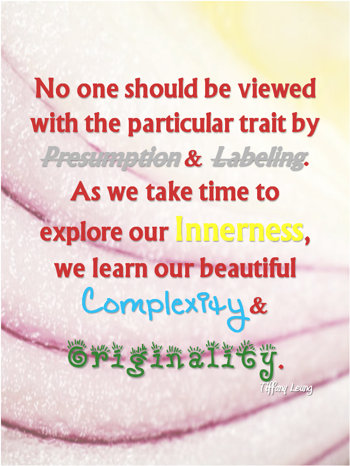 Explore Our Innerness