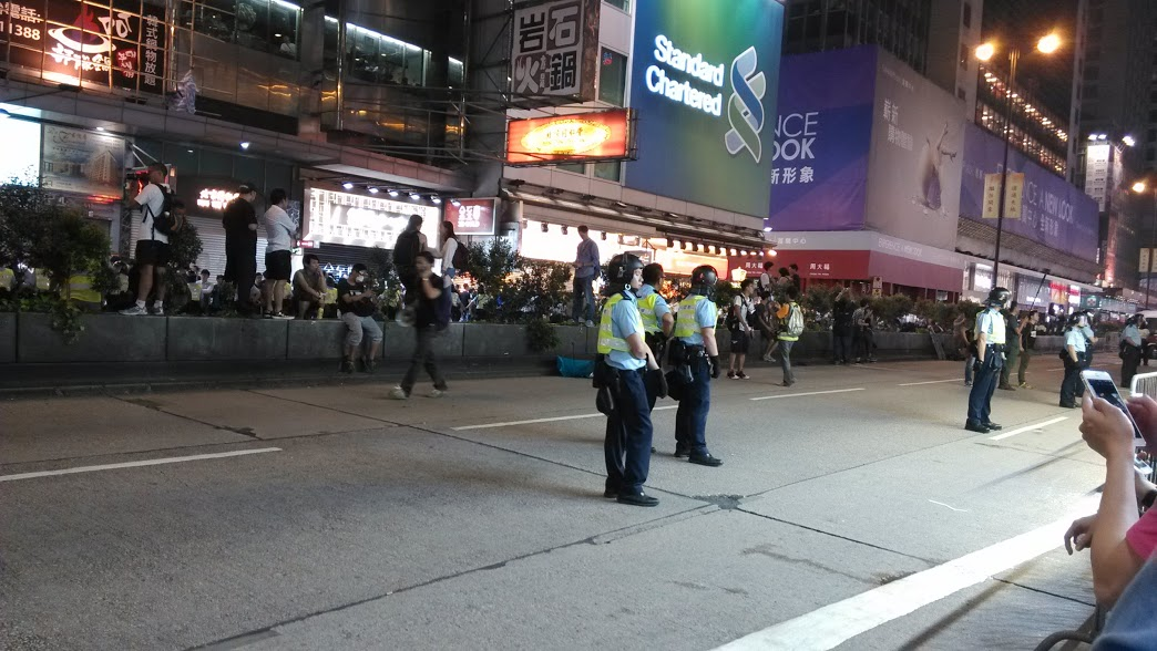 hong kong protest - own experience